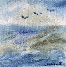 Impression marine 4 - Peinture à l'huile