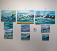 Peintures Marines - Exposition 2019 à la Baule