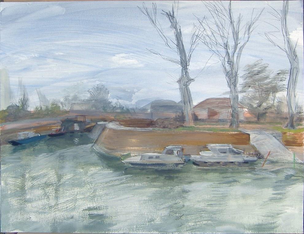 Rouaud dessin peinture ateliers d 39 artistes de belleville - Bassin canard mauritius saint paul ...