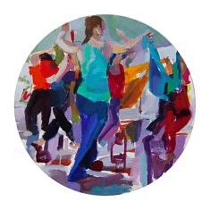 La     Danse                 Huile sur toile          Tondo   40