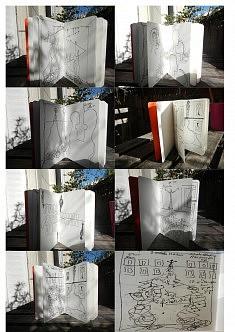 Carnet croquis • projet installation Rhizomes