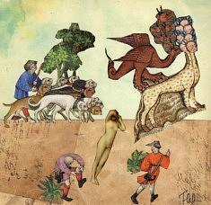 Femme et dragon