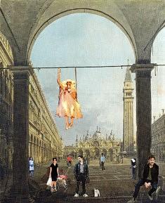 Animation à Venise