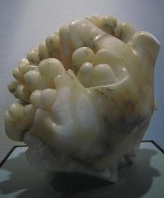 MADAME REVE - Albâtre - H 25 cm - 2007