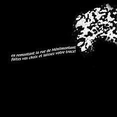 """Dispositif interactif :"""" Laissez votre graffiti en descendant la rue de Ménilmontant""""  2014"""