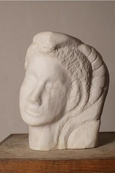 Mila (gypse - hauteur 40 cm)