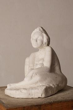 Maternité (gypse - hauteur 40 cm)