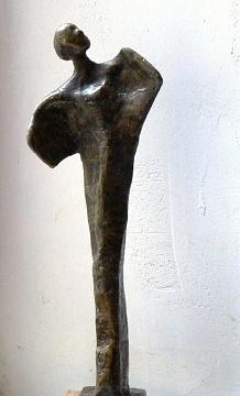 Regard vers l'ailleurs (bronze à la cire perdue - hauteur 30 cm)