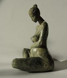 Espérence III (bronze numéroté, h 31 cm)