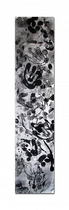 Kake 01 - Acrylique sur intissé - 30x150 cm