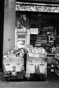 photo noir et blanc argentique