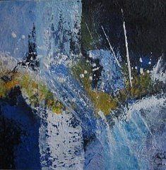 Christiane EDMOND Composition ( huile)