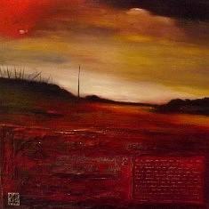 Huile et argile sur toile. 60 X 60 cm. 2013