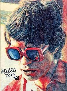 DESSIN (1968): Mick Jagger, Musicien, 1er PRIX national et titre de « POP-DESSINATEUR '69 », Yougoslavie
