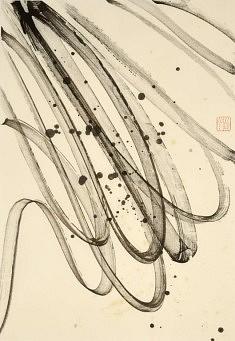 Musique - 2013 - Encre de chine - 50 x 35 cm