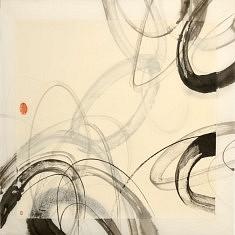 Calligraphie - 2013 - Encre de chine - 60 x 60 cm