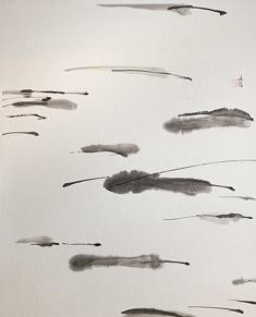 Calligraphie - 2017 - Encre de chine - 100 x 70 cm