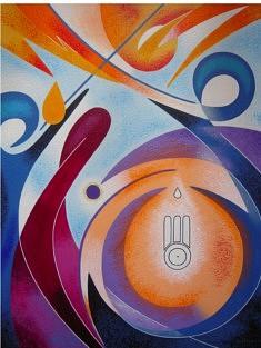 """""""Surélévation"""" - 2012 (65x54cm)"""