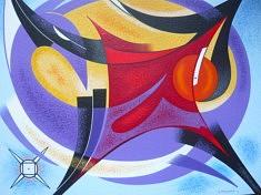 """Epanouissement"" - 2014 (54x65cm)"