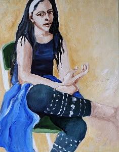Siretta  Huile sur toile (33 x 41)