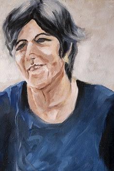 Margarita Huile sur toile (33 x 41)