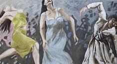 Danse Huile sur toile (120 x 60)