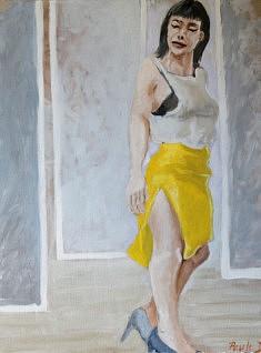Dorabella Huile sur toile (50 X60)