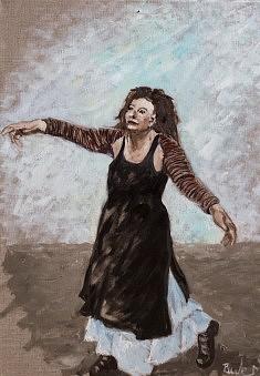 La belle envolée Huile sur toile (46 x 60)