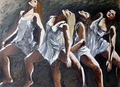 Danseuses 2 Huile sur toile (80 x60)