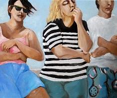 Vacance Huile sur toile (46X54)