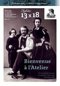 """""""Le Tiré à part"""" Infoto 13x18 N°1de la revue indépendante de l'Association Photographes Parisiens. Création Lucille Botti http://www.graphicplume.fr/"""