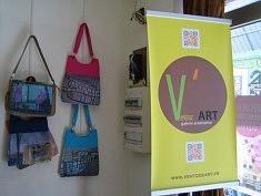 Impression numérique de peinture sur sacs