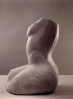 Europa. marbre de Carrare, 50 cm, 1998