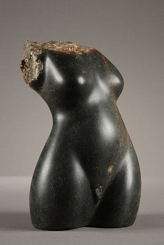 Torso. serpentinite, 22 cm, 2008