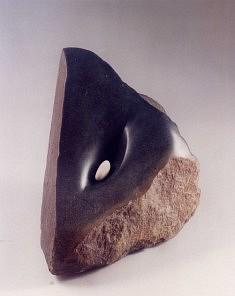 Graine féminine. serpentine du Zimbabwe, 30 cm, 2001