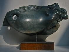 ABYSSE - Serpentine du Zimbaboué - L 45 cm - 2008