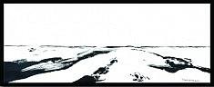 Perspective 2 - acrylique sur toile 52,5 x 22,5 cm