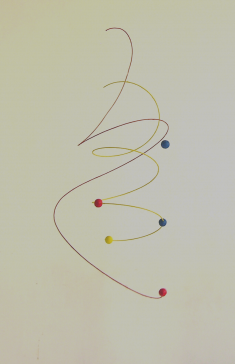 Spirale, hauteur : 50 cm - 150 €
