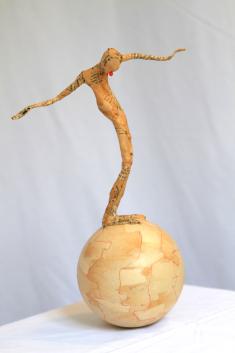 Culbuto 1, hauteur : 35 cm
