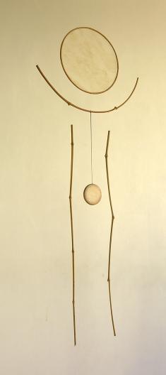 Bambou 1, hauteur : 85 cm