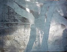 """""""persistance des gris"""" 65 x50cm"""