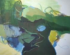 "2019, ""paysage"", 65x50cm"