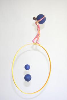 Le jongleur, 45 x 30 cm