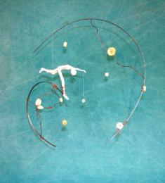 Molettes et re-molettes, 45 x 50 cm