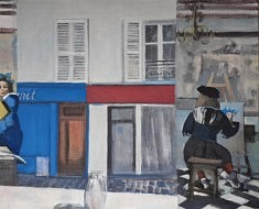 """Série Belleville-Vermeer, """"La Peinture"""", 50x60m"""