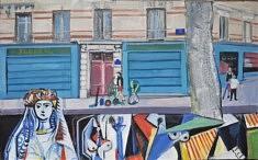 """Série Belleville-Picasso """"Le Floréal"""", 38x61cm"""