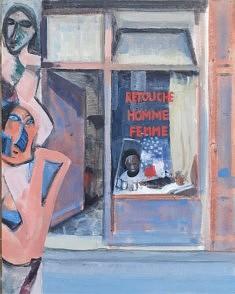 """Série Belleville-Picasso """"Les Demoiselles"""", 35x27 cm"""