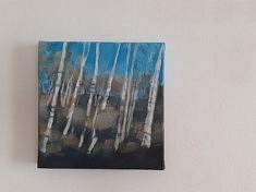 """2020, """"Planter des arbres, Limousin (6)"""", 20x20cm"""