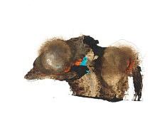 Le Prince des Rats - café et pastels sur papier - 32x24cm - 2020
