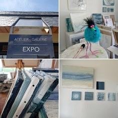 BRETAGNE Atelier-Galerie  ouvert à l'année 14H 18H du mardi au samedi et sur RDV. Pôle d'Artisanat et d'Art 29120 Saint-Jean-Trolimon